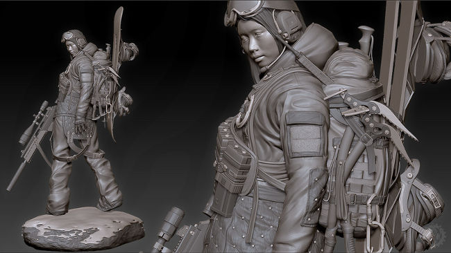 Spotlight on Art: Interview With Video Game Artist Joseph Drust ...