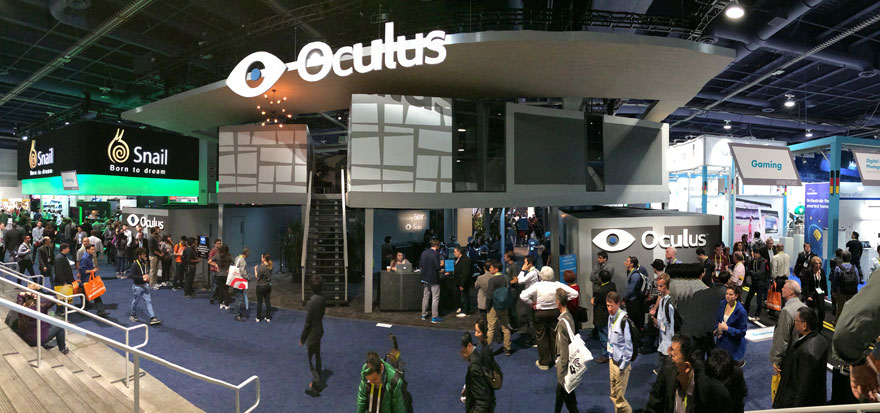 Oculus Booth at CES 2015