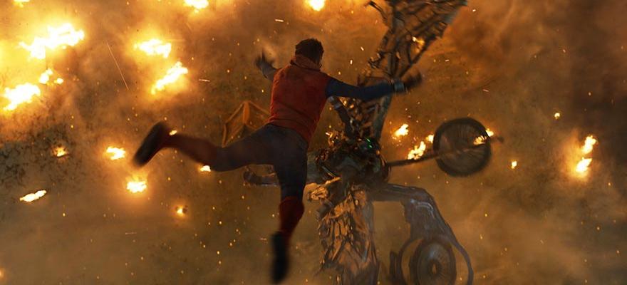 Spider-Man movie still