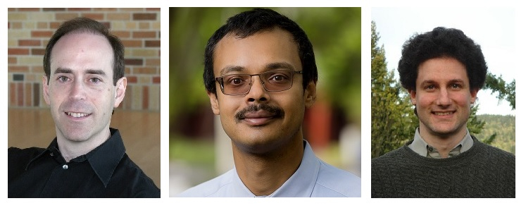 2017 ACM Fellows Michael Kass, Ravi Ramamoorthi, and Steve Seitz