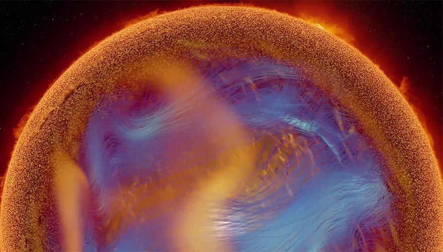 NCSA AVL: Superstorms Visualization Excerpts: First Stars to the Solar Dynamo
