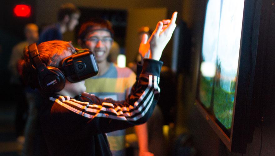 Mindscape VR in action.