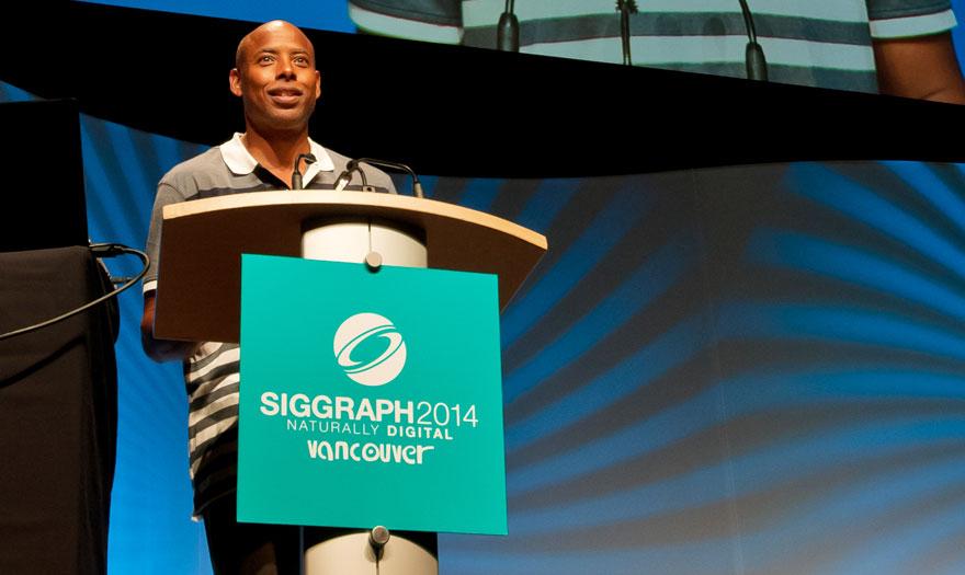Jerome Solomon at SIGGRAPH 2014