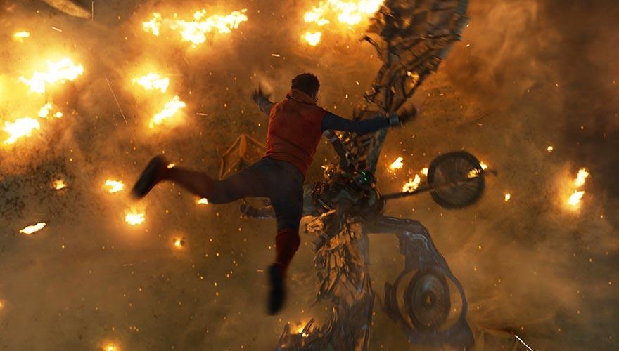 Resultado de imagem para spiderman homecoming climax