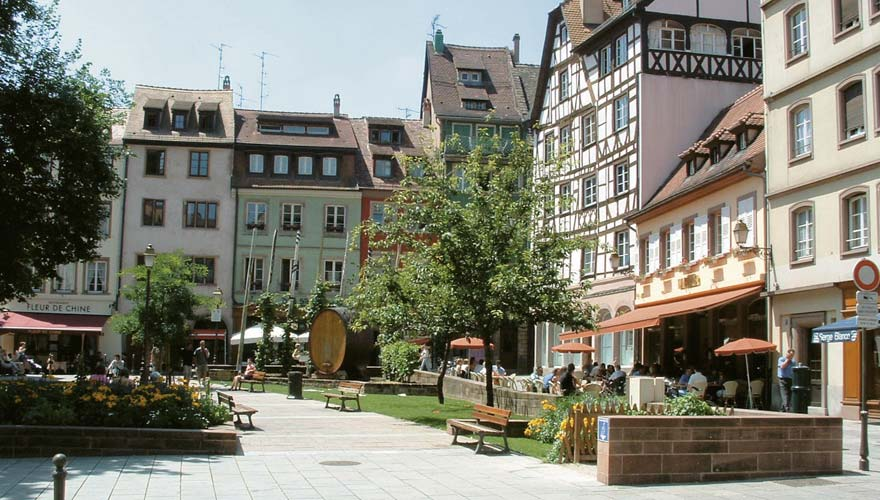 Place des Tripiers in Strasbourg, France.