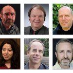 Top Row: Left to Right: Brad Lawrence, David Spoelstra, Evan Hirsch; Bottom Row: Mashhuda Glencross, Paul Strauss, Terrence Masson