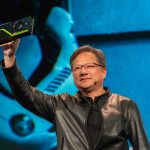 Image: Nvidia CEO Jensen Huang introduces the world to the Turing GPU Quadro RTX 8000 at SIGGRAPH 2018 in Vancouver.