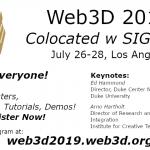 Web 3D Conference Details